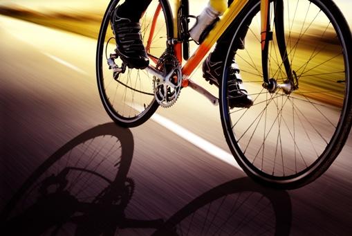 Jazda na rowerze.