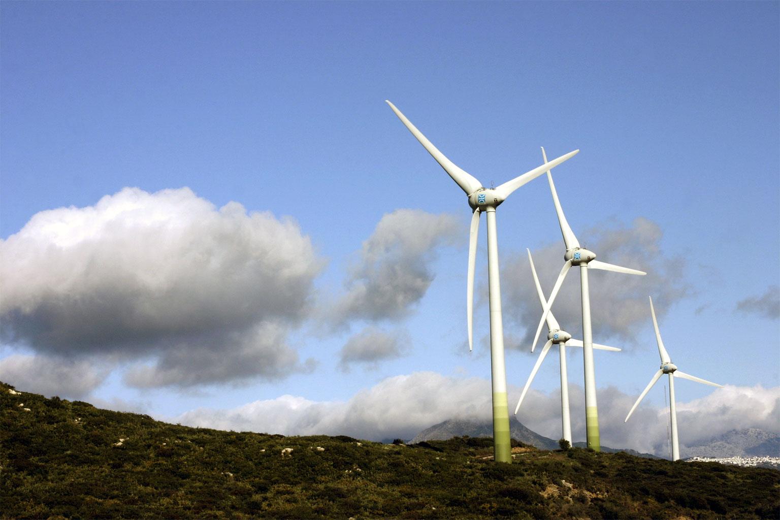 farmy wiatrowe w polsce