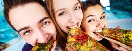 pizza na imprezie