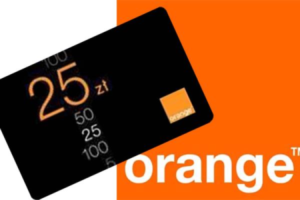 orange doładowanie sms