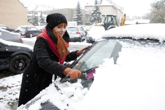 garażowanie samochodu zimą