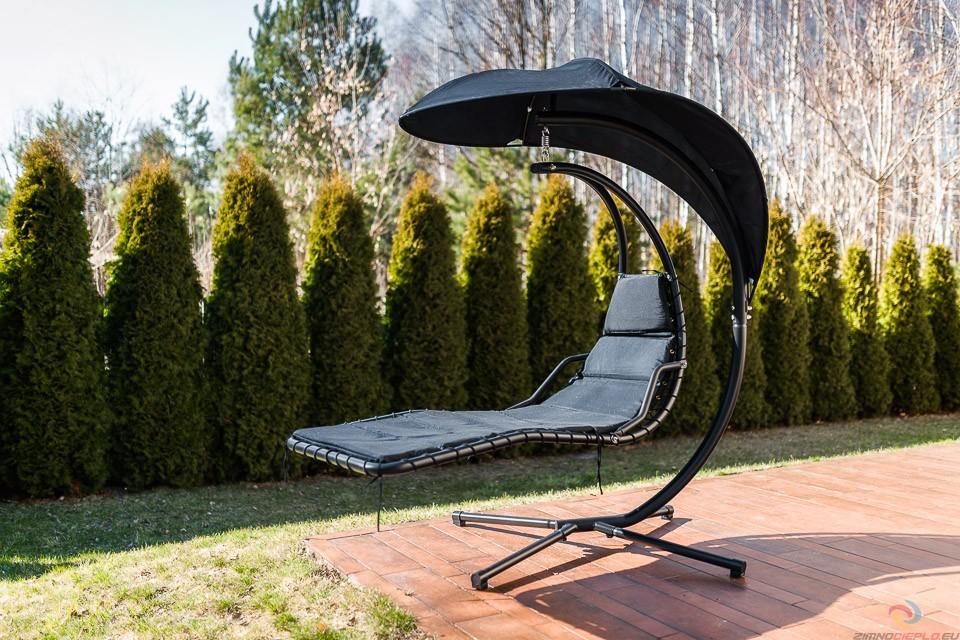 podwieszany fotel ogrodowy