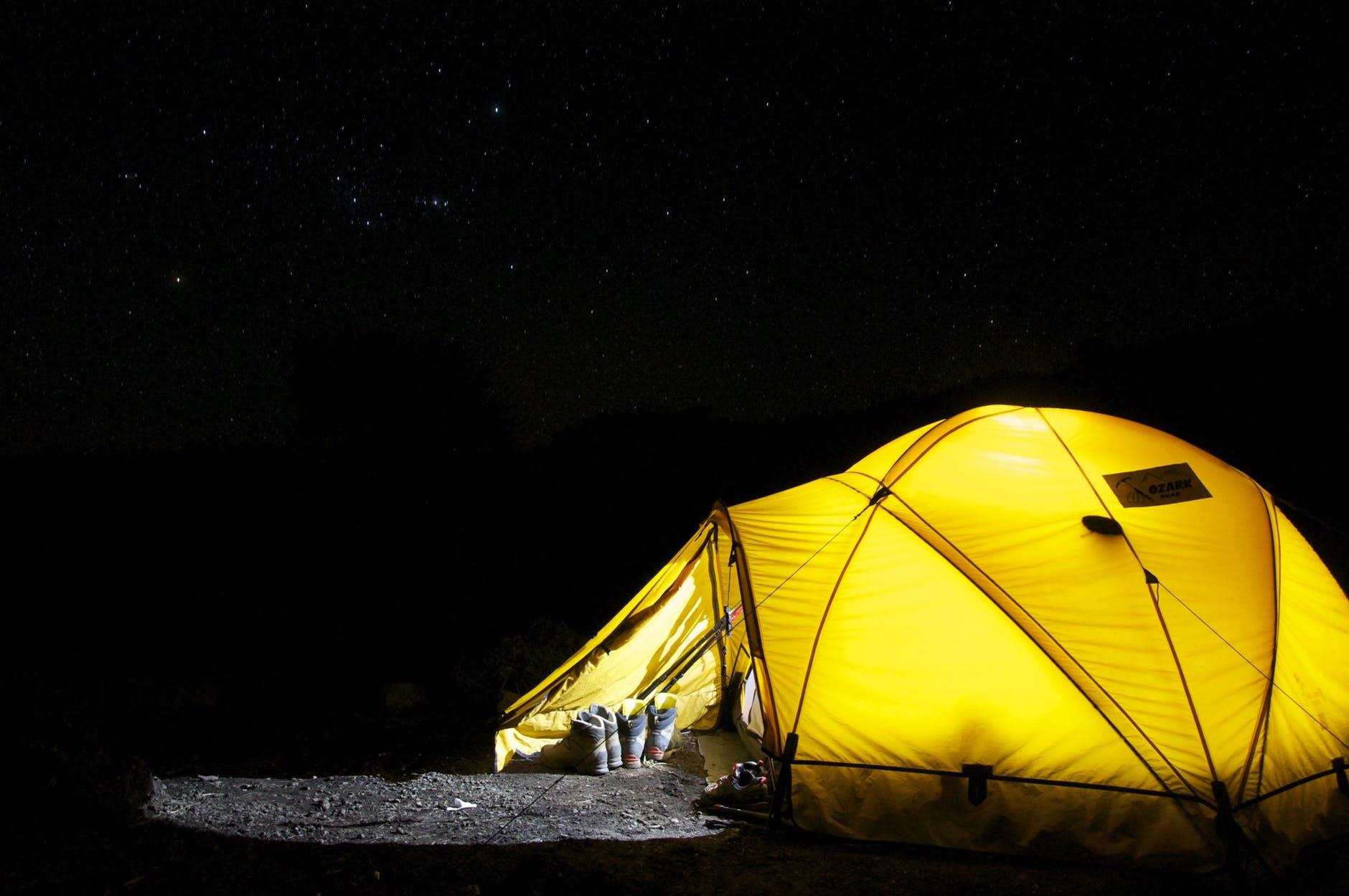 kupno namiotu