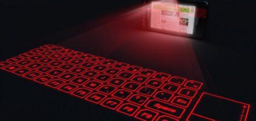 laserowa klawiatura