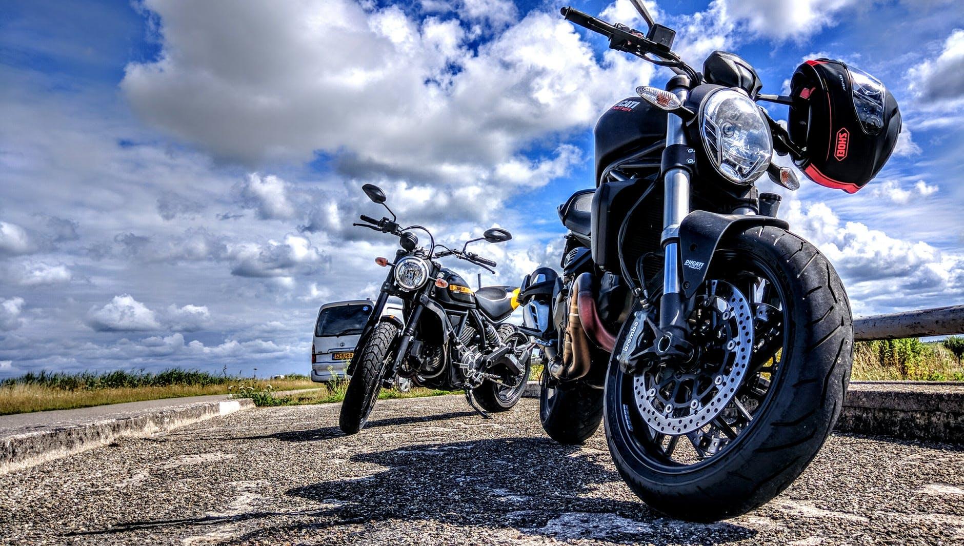 czyszczenie motocyklu