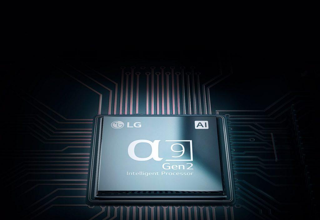 procesor alpha 9 w OLED AI ThinQ