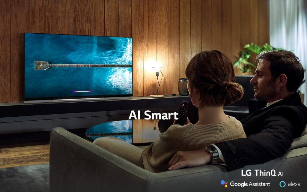telewizory LG OLED AI ThinQ - inteligentne sterowanie