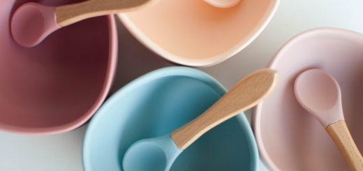 kolorowe miseczki dla dzieci